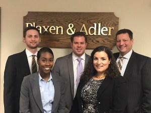 Plaxen & Adler Scholarship Winner Kamesha Laurry