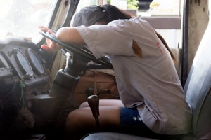 Tired Truck Driver Accidents Maryland